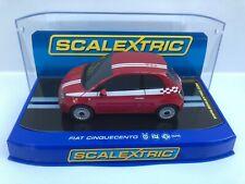 SCALEXTRIC SLOT CAR C2934 FIAT 500 CINQUECENTO RED  > NEW MIB