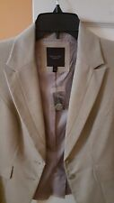NEW Tan The Limited Blazer Suit Jacket Women's Size 2