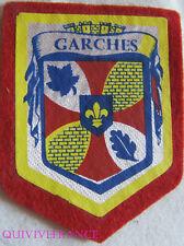 BG5875 - PATCH ECUSSON TISSU BLASON VILLE DE GARCHES