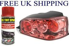 E-TECH Red Lens Tinting Spray Glass or Plastic Lenses Car Motorbikes Lights tint