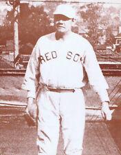 "Babe Ruth Poster Print - Vintage Boston Red Sox Photo - 11""x14"" Sepia"