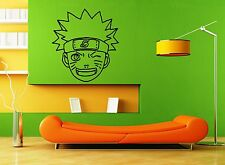 Wall Stickers Vinyl Decal Naruto Anime Teen Nursery Cartoon Kids Room (ig1101)