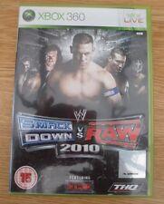 WWE SmackDown vs Raw 2010 Microsoft XBox 360 Game