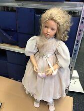 Il Kase Lepp bambola di porcellana 80 CM. OTTIMO stato
