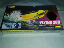 Moebius Voyage to the Bottom of the Sea Mini Flying Sub model kt w/ col interior