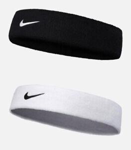 Nike Sports Headband Running Yoga Gym Stretchy Cotton Sweatband Headband