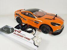 Aston Martin Radio Control RC 4WD Drift Model Race Car Toyota Supra Turbo 1:10