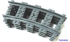 Lego ® ferrocarriles 4x gebogne raíles (3677,7897,7898, 7938,7939,60051,60052)