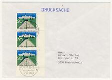 BUND - DRUCKSACHE mit Nr. 628 MeF und FORM-Nr. 1 senkrecht ndgz (905)