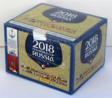 Panini World Cup 2018 Russia - box with 100 packs version 682 stickers - NEW