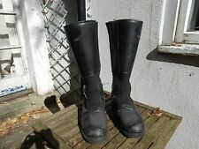 Italian State Police Mortorcycle Boots size 7