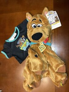 Build A Bear Unstuffed Scooby-Doo with T-shirt Nwt