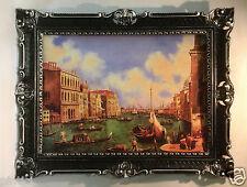Venezia navicella immagine panoramica dipinto 90x70 Venezia Venezia Acquerello Venezia immagine
