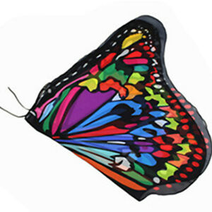 Butterfly Wings Costume Cape Princess Shawl Wing Kids Girl Holloween Cloak Fairy