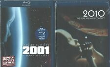 2001+2010 Space Odyssey (1-2): Year We Make Contact-Sci Fi Classics-New Blu Ray