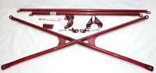 X-Bar+c-Pillar+Lower Bar Rear Crossbar 94-01 Honda Integra Dc2 Dc1 Acura Type-R