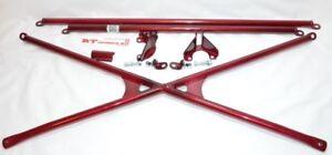 X-Bar+c-Pillar+Lower Bar Rear Crossbar 94-01 Honda Integra Dc2 Dc1 Acura Type-R