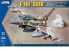 """(x) Kinetic k48085 - 1:48 f-16i """"Sufa"""" with IDF Weapons-Neuf"""