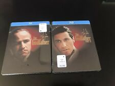Godfather Part 1 & 2 Blu-Ray Steelbook BRAND NEW OOP