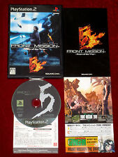 * complet * PS2 jeu front mission 5: cicatrices de la guerre ntsc-j japan import