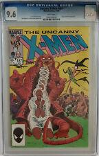 The Uncanny X-Men #187 - CGC 9.6 - White Pages NM+ Marvel
