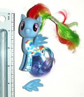 Rainbow Dash : G4 2016 Hasbro MLP My Little Pony Brushable Figure : (D-1)