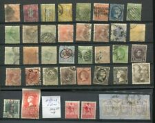 OC838) Spain + Colonies some antilles classic stamps used/ MLH