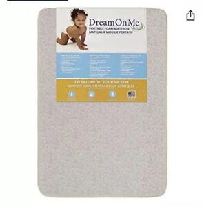 "Dream On Me 25-GR 3"" Square Corner Playard Matress"