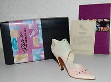 "Just The Right Shoe ""Spring Raine"" - Retired 2003 Orig Box-All Paperwork Nip"