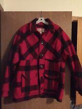 filson wool mackinaw cruiser coat
