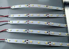 "9 LED Light Strip (lot of 5) Warm White Interior Lights 6"" Length  HO Lighting"