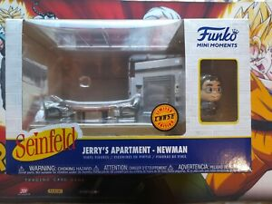 Funko Seinfeld Jerry's Appartment- Newman Chase mini moments