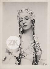 OLGA SPESSIVTSEVA Danseuse BALLET Russe GONCHAROVA Lipnitzki Photo 1930s