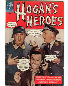 HOGAN'S HEROES # 1 June 1966 DELL First Issue COMIC BOOK