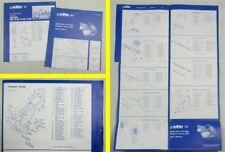 Ersatzteilliste KTM 250 300 MX D-XC E-XC E-GS Typ 546 1991 Parts List Faltblatt