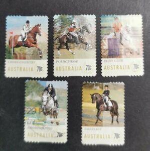 2014 Equestrian Events set Used B40