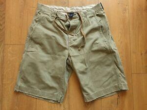 GAP Mens Khaki Cotton Shorts Size M
