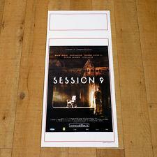 SESSION 9 locandina poster Caruso Boston Danvers Mental Hospital Thriller U64