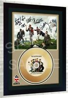Madness One Step Beyond Mini Gold Vinyl CD Record Signed Framed Photo Print  #1