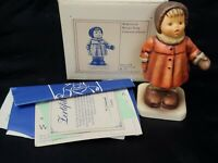 Hummel Goebel Winter Song #293.Pre-owned with Box. MINT CONDITION