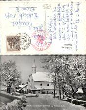 386998,St. Corona am Wechsel Kirche Straßenansicht Winterbild