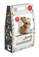 Baby Bunny Needle Felting Kit by The Crafty Kit Company