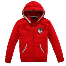 Kingsland Aldebaran Unisex Hooded Sweat Jacket Red XXS Was £109