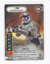 Star Wars Destiny Dice Building Game: Finn, First Officer Defector Q3 alt art pr
