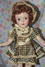 "Beautiful! Vintage Early 17"" Sweet Sue Hard Plastic Doll All Original"