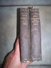 1856 DRED TALE OF THE GREAT DISMAL SWAMP HARRIET BEECHER STOWE 1ST ED 2 VOLUME