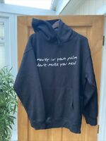 MEX Black J Cole Middle Child Born Sinner Hoodie Size Large Dreamville Coleworld