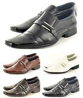 New Mens Italian Style Formal / Wedding Slip on Shoes In UK Sizes  6-11