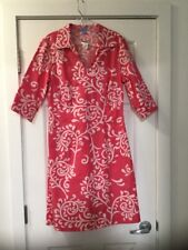 NWT J. McLaughlin Pink Swirl Tunic Dress Size 10