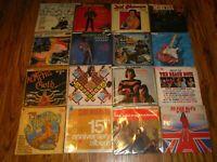 60's Pop Rcok job lot LP VG Vinyl Record Collection x 16 SET B
